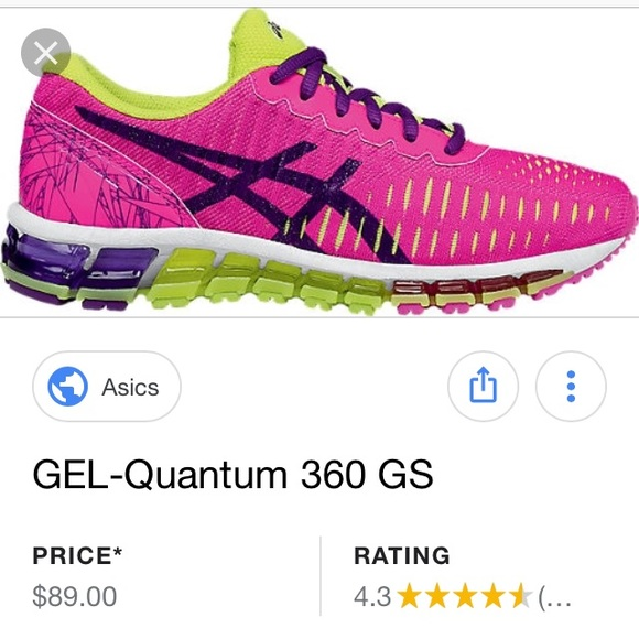 ASICS Gel Quantum 360. NWT. Factory mis marked. NWT
